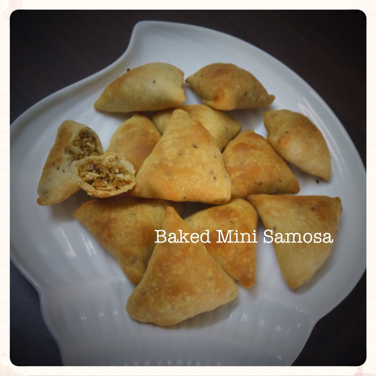 Baked Mini Samosa Recipe